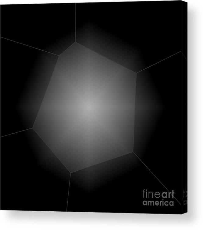 Abstract Acrylic Print featuring the photograph Radiance - Abstract Art by Carol Groenen