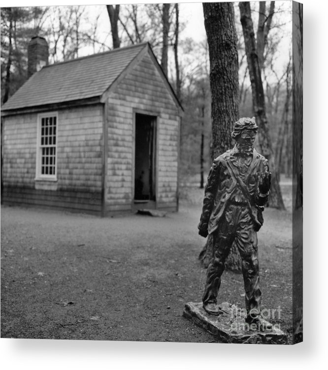 Thoreau Acrylic Print featuring the photograph Walden by Arvind Garg