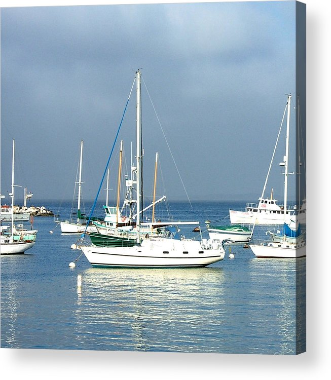 Seascapes Acrylic Print featuring the photograph Monterey Bay by Donna Thomas