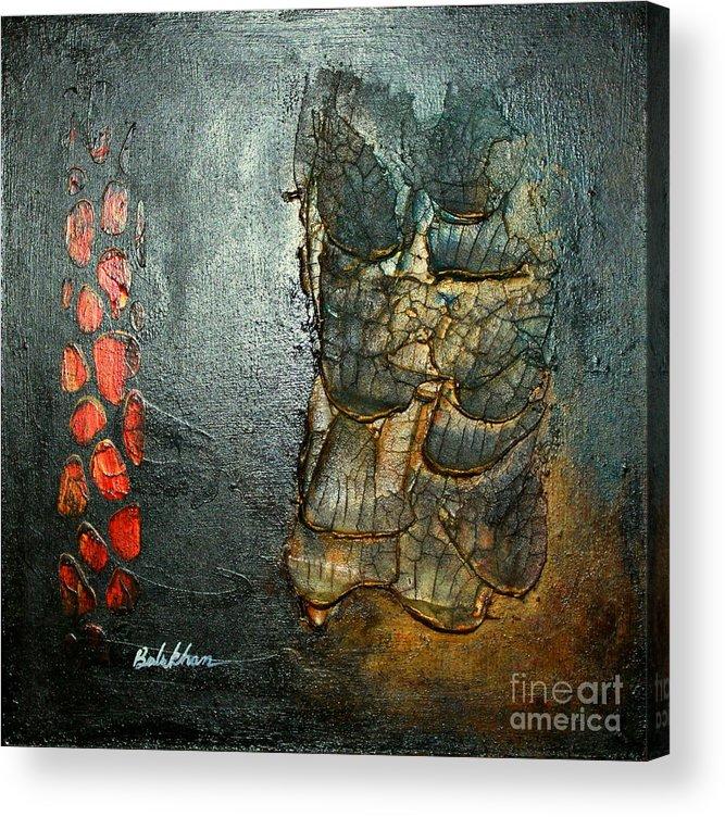 Precious Acrylic Print featuring the painting Precious1 by Farzali Babekhan
