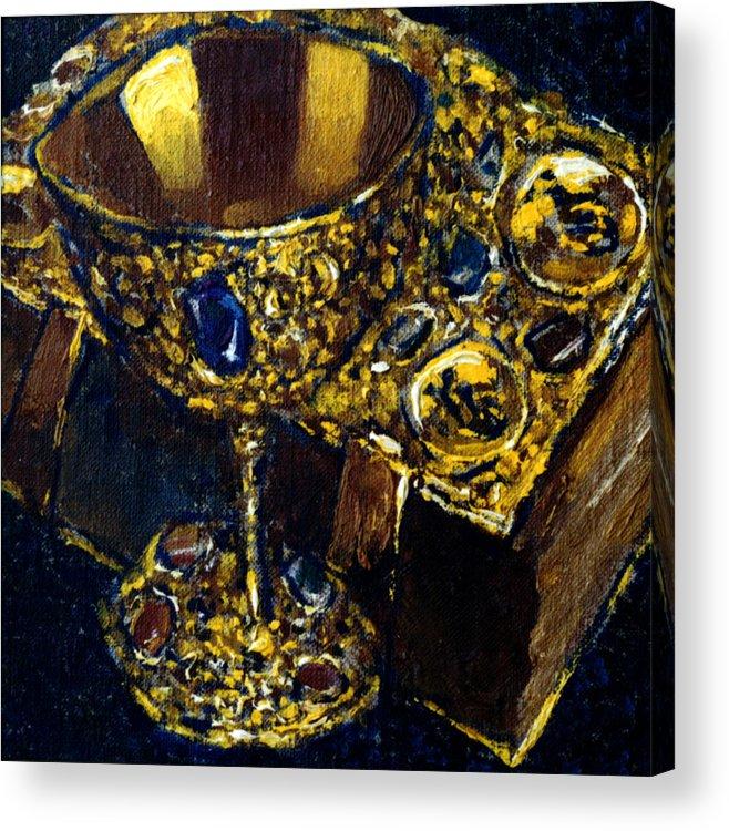 Altar Acrylic Print featuring the painting Still Life 7 by Valeriy Mavlo