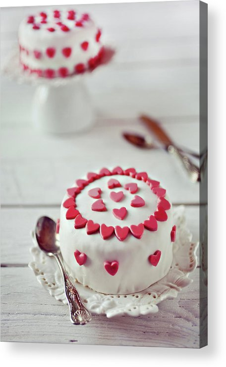Temptation Acrylic Print featuring the photograph Mini Tortine by Uccia photography