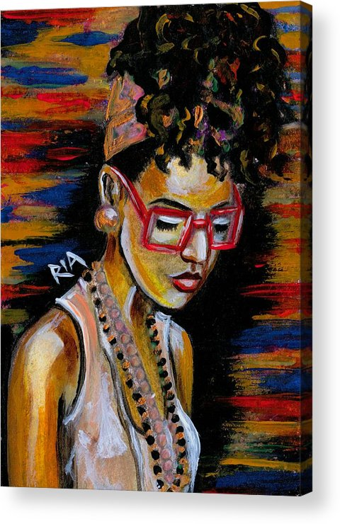 Beautiful Acrylic Print featuring the photograph Romy by Artist RiA
