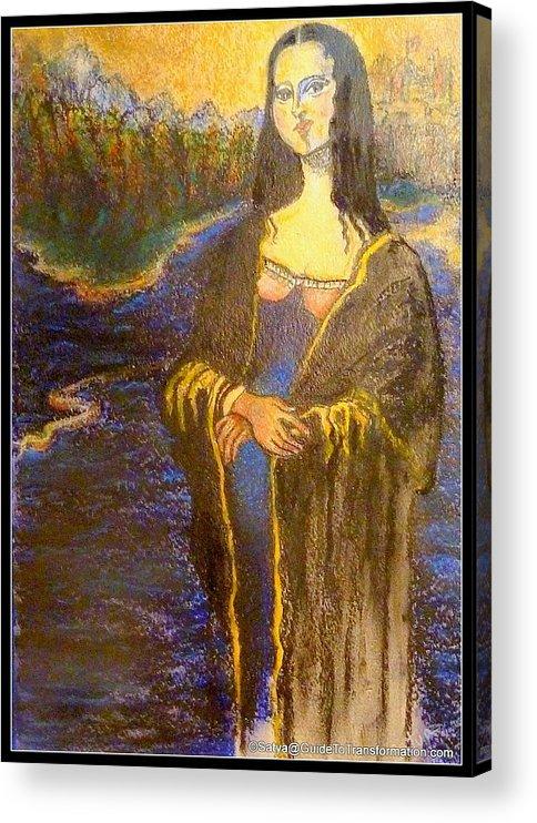 Woman Acrylic Print featuring the painting Ya Think Mr. Akins by Satya Winkelman