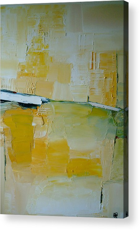 Abstract Acrylic Print featuring the painting A Random Impression by Stefan Fiedorowicz