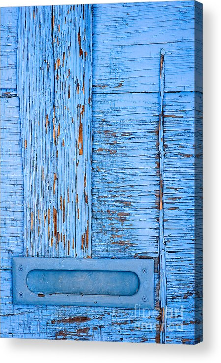 Colorado Acrylic Print featuring the photograph Blue Mail by Mark Braun