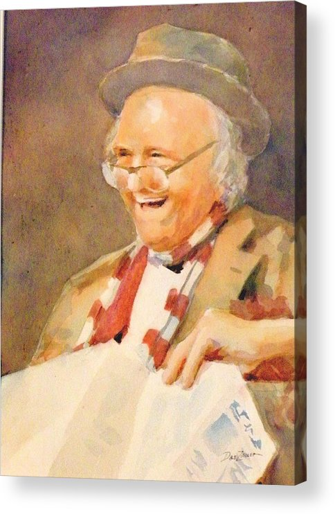 Acrylic Print featuring the painting Clem by Faye Ziegler