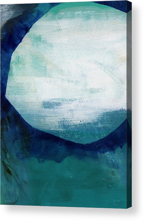 Blue Acrylic Print featuring the painting Free My Soul by Linda Woods