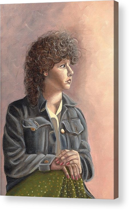 Acrylic Print featuring the painting Grace by Toni Berry