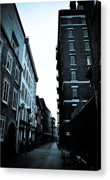 Urban Acrylic Print featuring the photograph Historic Walk by Mark Highfield