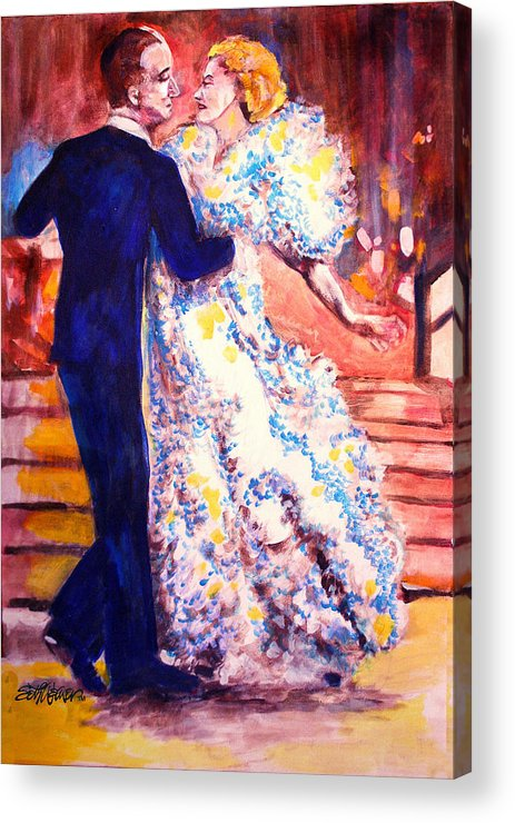 I'm In Heaven Acrylic Print featuring the painting I'm In Heaven by Seth Weaver