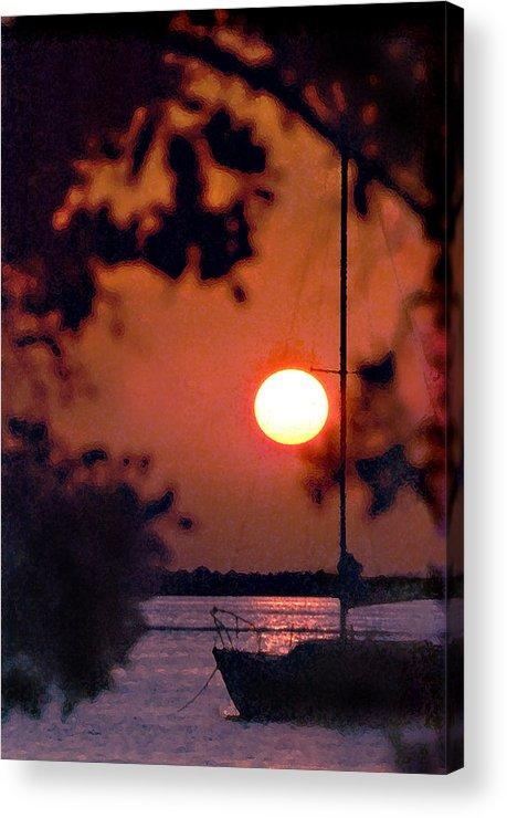 Seascape Acrylic Print featuring the photograph Key Largo by Steve Karol