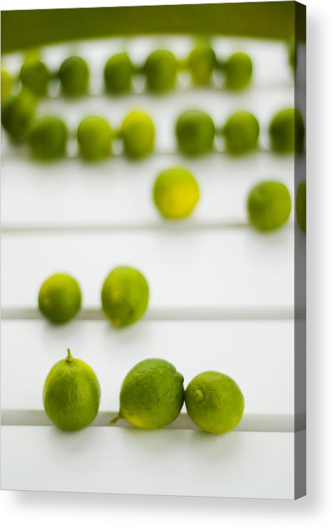 Green Acrylic Print featuring the photograph Lime Green by Skip Hunt