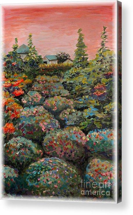 Minnesota Acrylic Print featuring the painting Minnesota Memories by Nadine Rippelmeyer