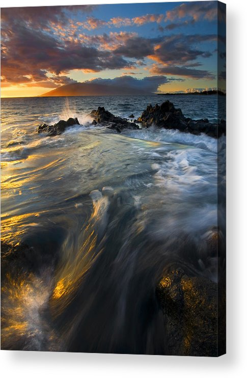 Cauldron Acrylic Print featuring the photograph Overflow by Mike Dawson
