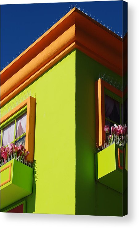Sky Acrylic Print featuring the photograph Pastle Corners by Rob Hans
