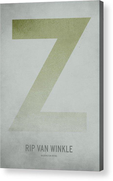 Stories Digital Art Acrylic Print featuring the digital art Rip Van WInkle by Christian Jackson