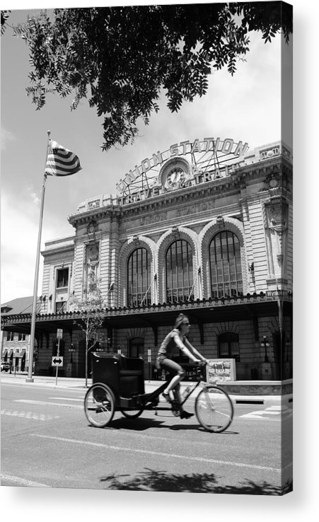 Street Acrylic Print featuring the photograph Union Station by Brian Anderson
