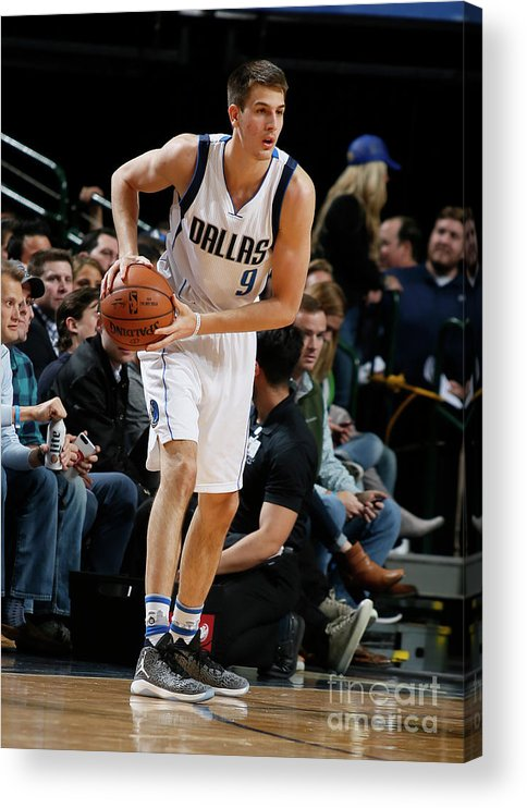 Nba Pro Basketball Acrylic Print featuring the photograph Memphis Grizzlies V Dallas Mavericks by Danny Bollinger