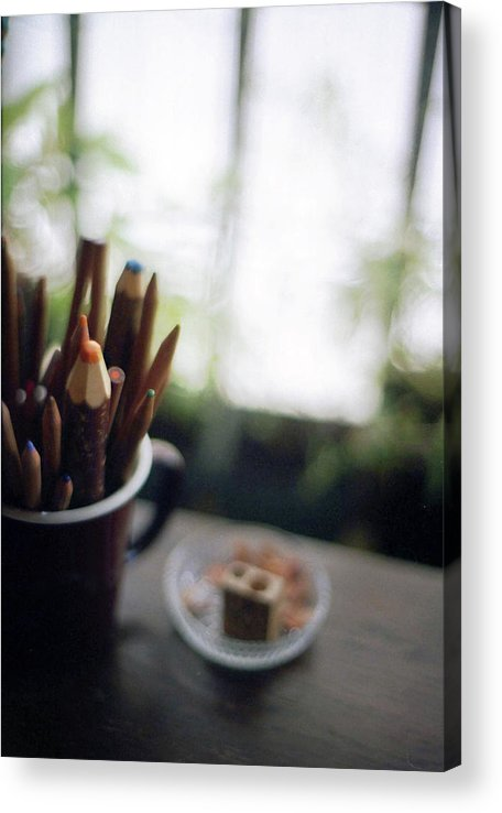 Osaka Prefecture Acrylic Print featuring the photograph Color Pencils by K-ko