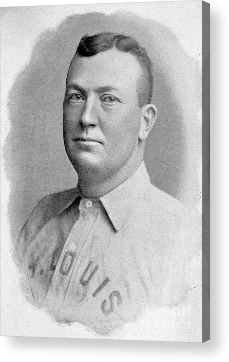 People Acrylic Print featuring the photograph Cy Young St. Louis 1899 by Transcendental Graphics