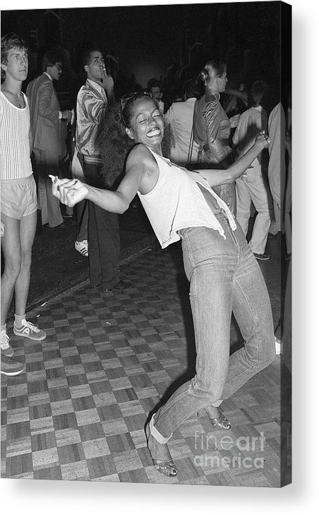 Singer Acrylic Print featuring the photograph Diana Ross Gets by Bettmann