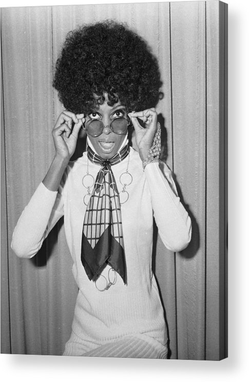 Singer Acrylic Print featuring the photograph Diana Ross by Larry Ellis