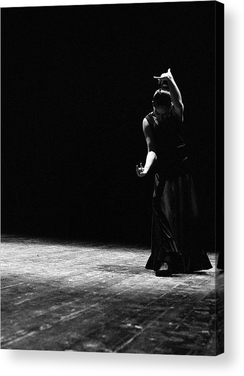 Ballet Dancer Acrylic Print featuring the photograph Modern Flamenco by T-immagini
