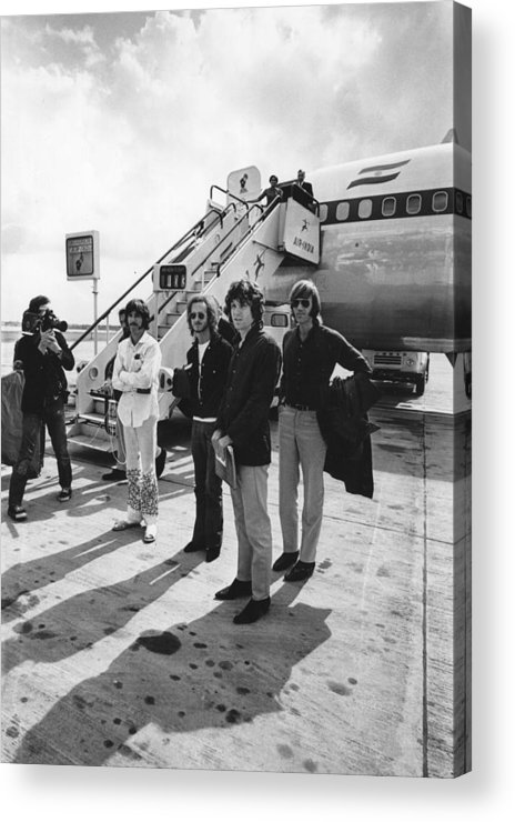 Rock Music Acrylic Print featuring the photograph The Doors by Express Newspapers