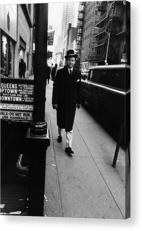 Artist Acrylic Print featuring the photograph Tom Wolfe by Jack Robinson