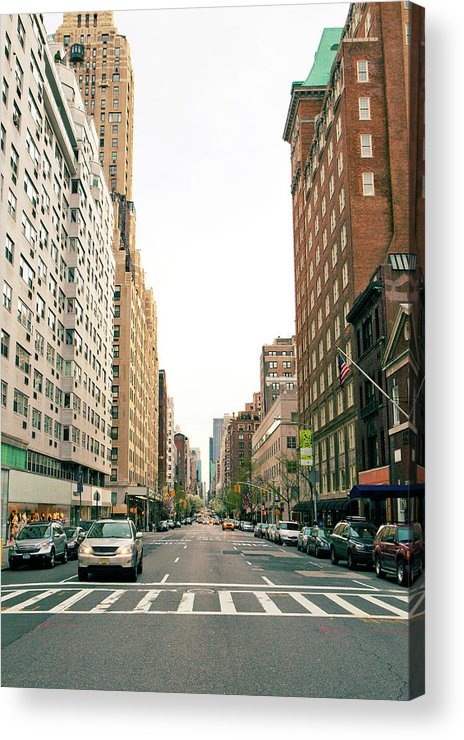 Outdoors Acrylic Print featuring the photograph Upper East Side, New York City by William Andrew