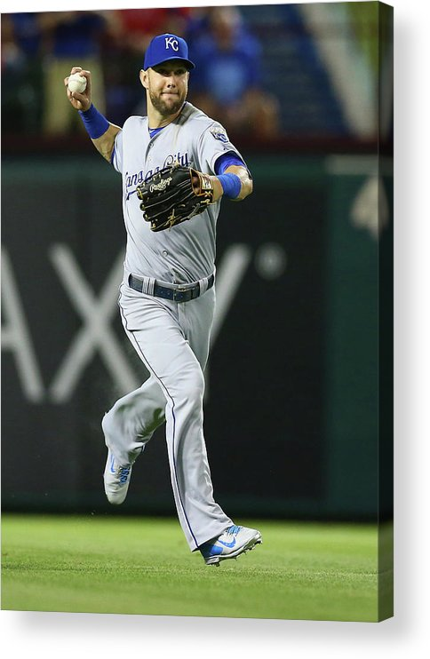 People Acrylic Print featuring the photograph Alex Gordon by Ronald Martinez