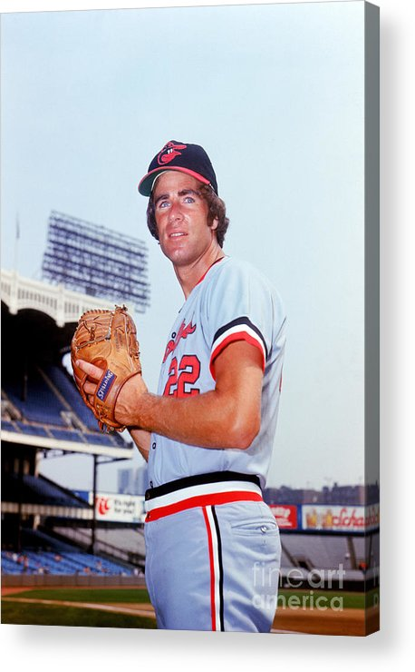 People Acrylic Print featuring the photograph Jim Palmer by Lou Requena
