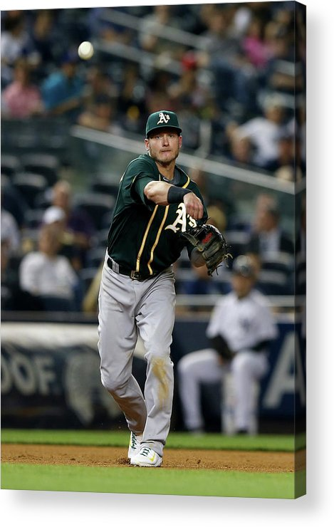 American League Baseball Acrylic Print featuring the photograph Josh Donaldson by Elsa