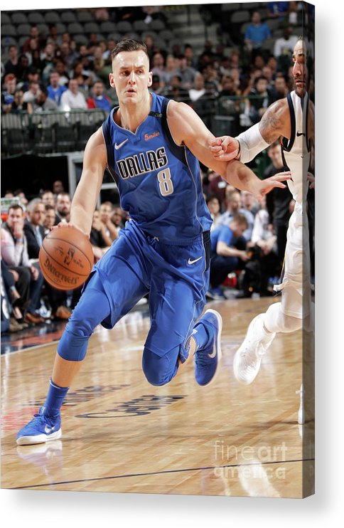 Sports Ball Acrylic Print featuring the photograph Kyle Collinsworth by Glenn James