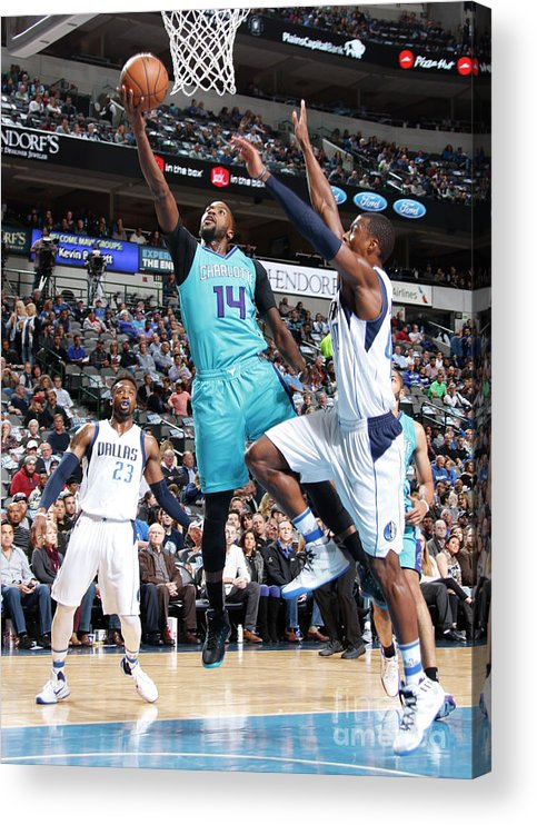 Nba Pro Basketball Acrylic Print featuring the photograph Michael Kidd-gilchrist by Danny Bollinger
