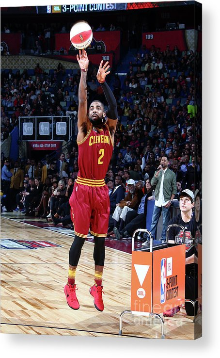 Event Acrylic Print featuring the photograph Kyrie Irving by Nathaniel S. Butler