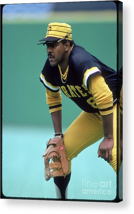 1980-1989 Acrylic Print featuring the photograph Willie Stargell by Rich Pilling