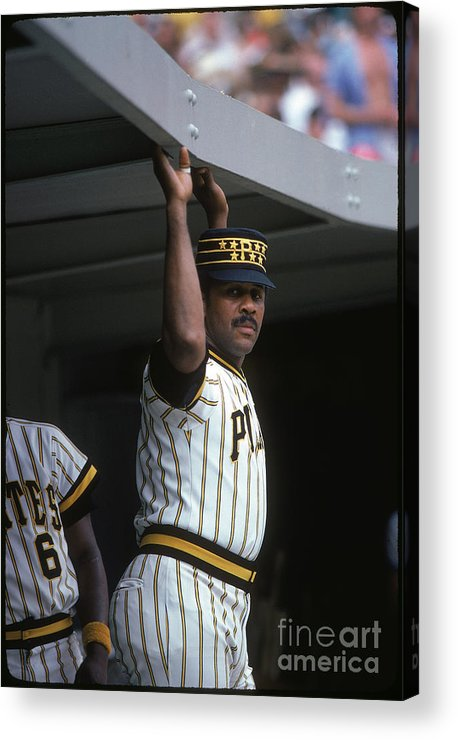 National League Baseball Acrylic Print featuring the photograph Willie Stargell by Rich Pilling