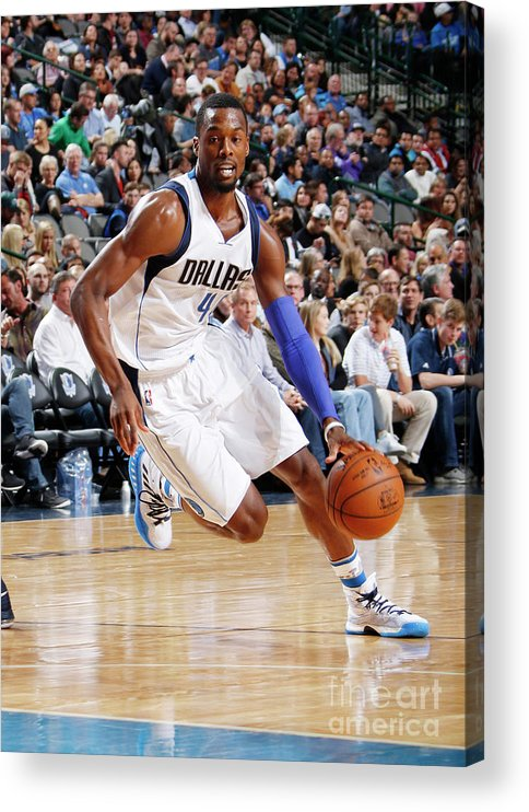 Nba Pro Basketball Acrylic Print featuring the photograph Harrison Barnes by Danny Bollinger