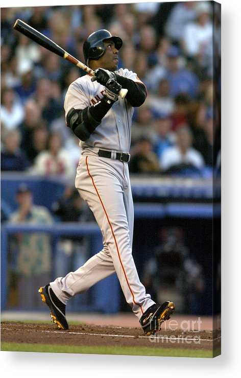 California Acrylic Print featuring the photograph Barry Bonds by Kirby Lee