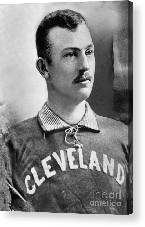 American League Baseball Acrylic Print featuring the photograph Cy Young by National Baseball Hall Of Fame Library