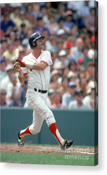 American League Baseball Acrylic Print featuring the photograph Carl Yastrzemski by Rich Pilling
