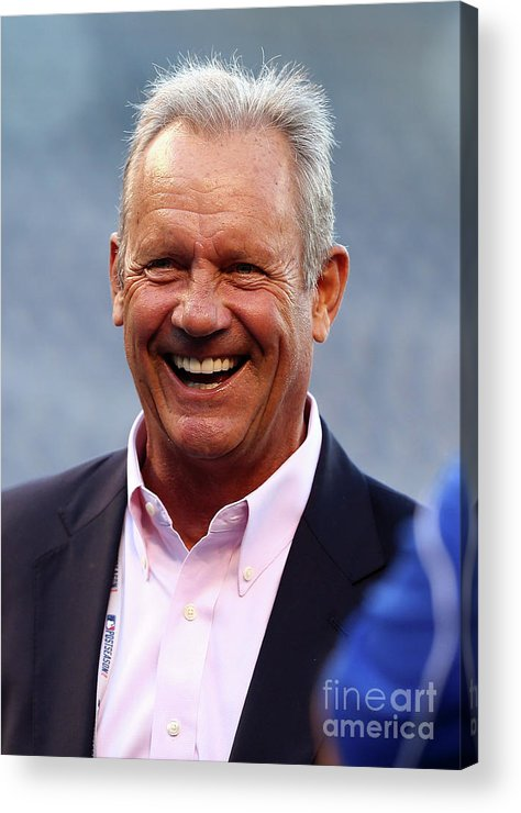 People Acrylic Print featuring the photograph George Brett by Elsa