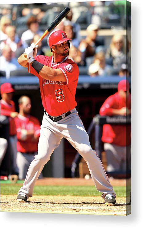 American League Baseball Acrylic Print featuring the photograph Albert Pujols by Elsa