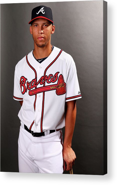 Media Day Acrylic Print featuring the photograph Andrelton Simmons by Elsa