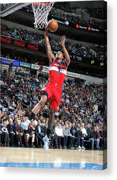 Nba Pro Basketball Acrylic Print featuring the photograph Bradley Beal by Glenn James