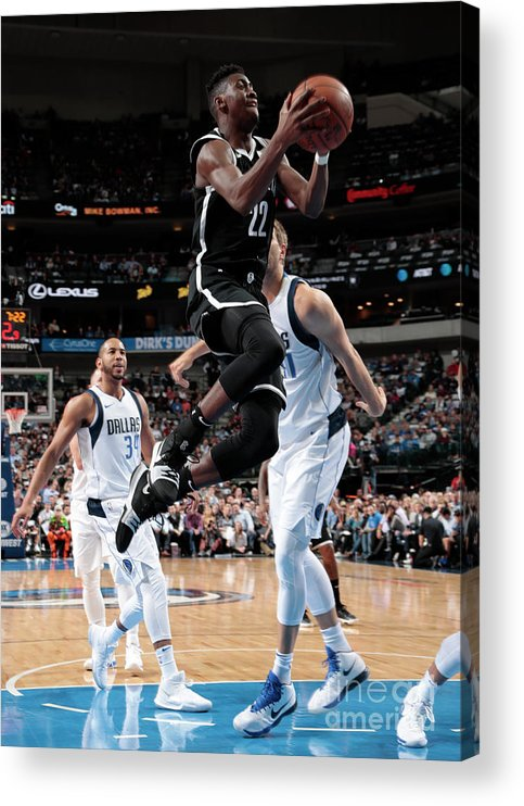Nba Pro Basketball Acrylic Print featuring the photograph Caris Levert by Glenn James
