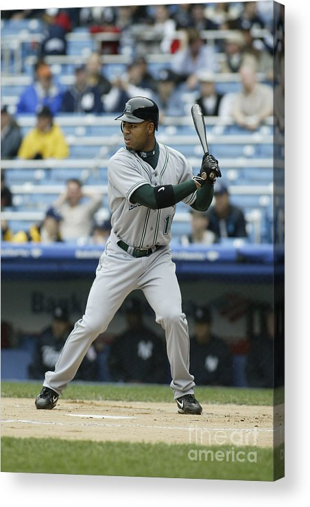 American League Baseball Acrylic Print featuring the photograph Carl Ray by Rich Pilling