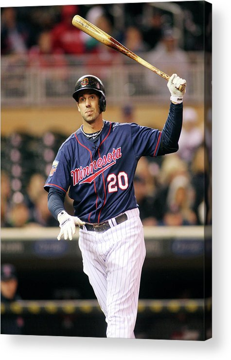 Ninth Inning Acrylic Print featuring the photograph Chris Colabello by Andy King